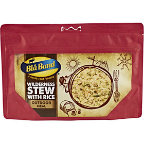Bla Band Outdoor Meal Wilderness Stew with Rice